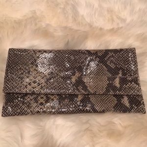 Snakeskin Pattern Clutch